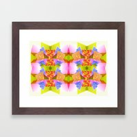 Color Blocks Framed Art Print