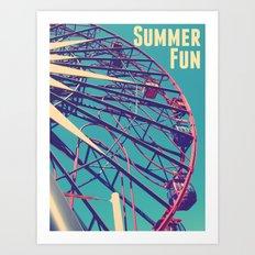 Summer Fun Art Print