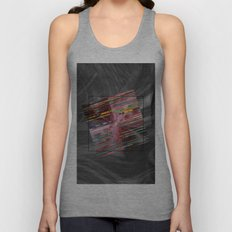 Barcode Square Unisex Tank Top