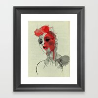 Lost In Dreams Framed Art Print