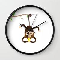 Iphone Monkey Wall Clock