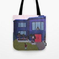 Blue House n°2 Tote Bag