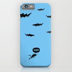 WTF? Tiburones! iPhone 6 Slim Case