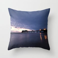 Before the Sun Throw Pillow