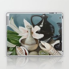 Kiwi fruit & Lillies Laptop & iPad Skin