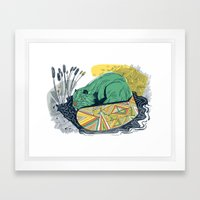 The Beaver Framed Art Print