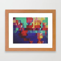 quartier Framed Art Print