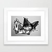 Avant que je m'ennuie - Emilie Record Framed Art Print