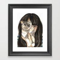 Patislene Framed Art Print