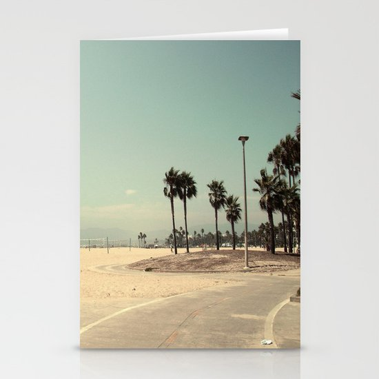Venice Beach number 2 Stationery Card