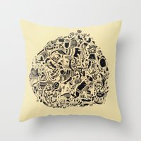 Pretzel Throw Pillow