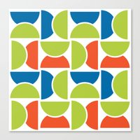 Lime Squeeze Canvas Print