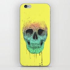 Pop art skull  iPhone & iPod Skin
