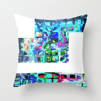 Pieces of Inspiration Throw Pillow
