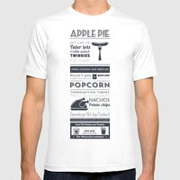 Best American Food Mens Fitted Tee White SMALL