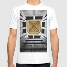 Up the Rung Ladder Mens Fitted Tee White SMALL