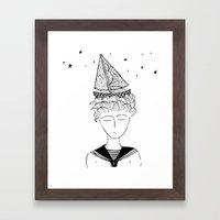 Dreamer on board Framed Art Print