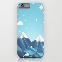 iPhone & iPod Case featuring Cool Mountains by Stefan Trudeau