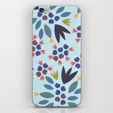 Blueberry 2 iPhone & iPod Skin