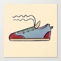 Sneakers Canvas Print