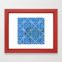 Origami Pig 4 Framed Art Print