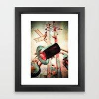 Crossings 2.0 Framed Art Print