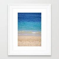 Cabo Beach Framed Art Print