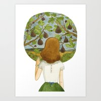 The Fig Tree Art Print