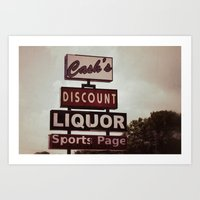 Cash's Art Print