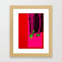 Seduction Framed Art Print