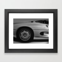 Jaguar XJ220 Framed Art Print