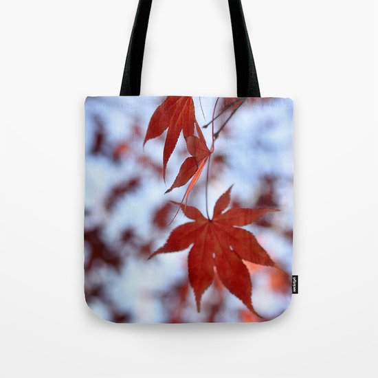 Japanese Red Maple Tote Bag