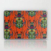 flower beetle orange Laptop & iPad Skin