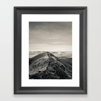 Sky Path Framed Art Print