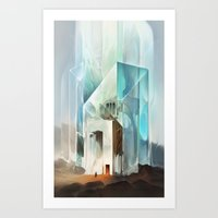 The Crystal-Flesh Hermit… Art Print