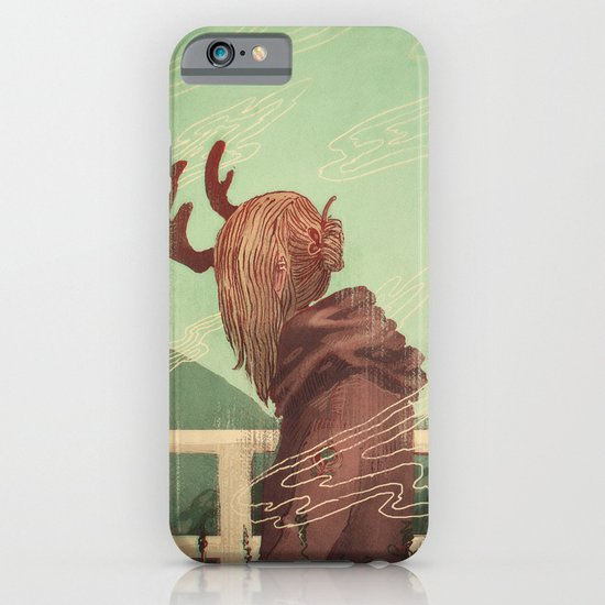 Last Year's Antlers iPhone & iPod Case