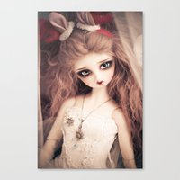And so its Christmas Canvas Print