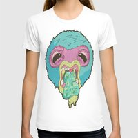 Halitosis Womens Fitted Tee White SMALL