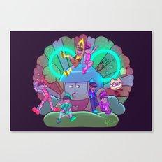 Osomatsu-san :: Electrical Parade (ver1) Canvas Print