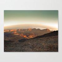 Life on Mars ? Canvas Print