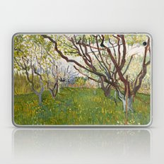 Flowering Orchard by Vincent van Gogh Laptop & iPad Skin