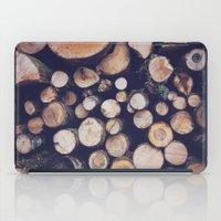 Firewood No. 1 iPad Case