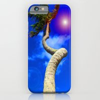 iPhone & iPod Case featuring Screwy Palm by JT Digital Art