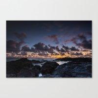 Kailua Sunrise Canvas Print