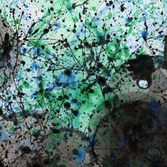 Ink & Bubbles 2 Art Print
