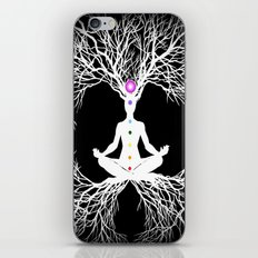 Tree of Life White iPhone & iPod Skin