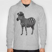 Zebra Cowboy Hoody