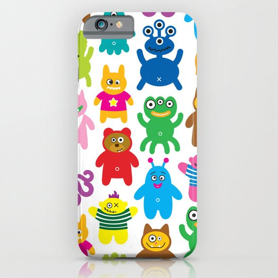Monsters and Aliens iPhone & iPod Case