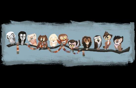 Doctor Hoo - Painted Version Art Print
