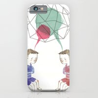 iPhone & iPod Case featuring Twins by Valentina Gruer